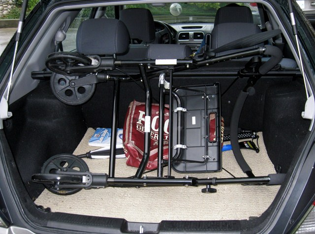 Room in trunk to transport a walker